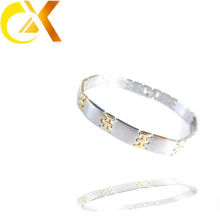 Goldschmucksachegroßverkauf 24k Goldmensarmband