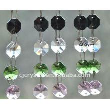 Оптовые кристаллические цепи ожерелья бисера