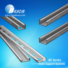 SS slotted uni strut channel (UL,CE,SGS authorized Manufacturer)