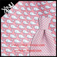 Tela feita sob encomenda por atacado da gravata da sarja da cópia de seda 18MM feita sob encomenda