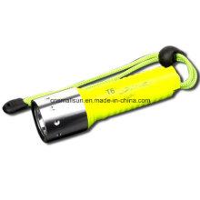 1X18650 Batt Single Mode Schraubschalter T100 Tauchlampe