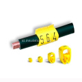 EC-1 Electric PVC cable sleeve marker 0-9