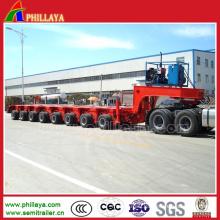 Transport Large Machines Modular Heavy Duty Trailer