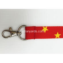 Triển lãm Customized Silk Screen Printed Logo Lanyard