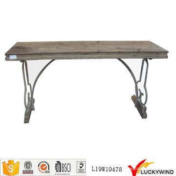 Landschaft Retro Holz Vintage Trestle Tisch