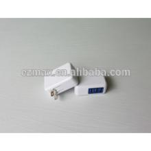 MINI 3USB CHARGER (FOLDING) para móviles, US EUR AU UK TW JP opción