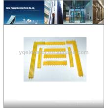 Schindler Escalator parts yellow safety edge Spécialités Demarcation, escalator étape cadre avec jaune dit