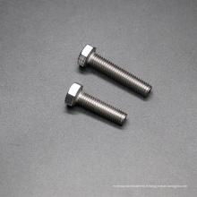 Boulon hexagonal en acier inoxydable 304 316 DIN933