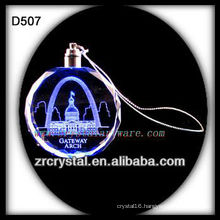 K9 Laser Crystal LED Ornament
