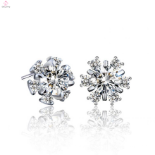 Benutzerdefinierte 925 Sterling Silber Blume Ohrring Schmuck