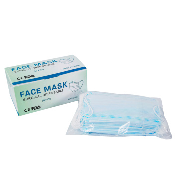 Masque facial jetable 3 plis anti-coronavirus 20PCS