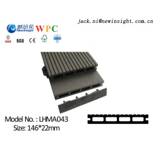 146*23mm Engineered Hardwood Flooring with Wood Plastic Composite Material