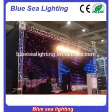 Teto Decoração Palco Equipamento Luz RGB LED Star Pano