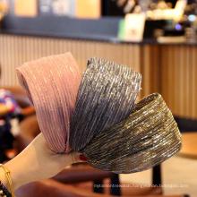 Wholesale Korean New Fashion Head Band Luxury Colorful Embellished Headband Women Wide Hair Band
