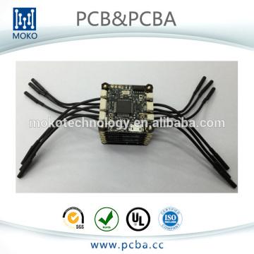 Placa de controle de vôo de helicóptero RC, FPV / UAV placa de controle pcb, quadcopter zangão placa de controle