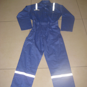 Vente en gros bleu Jumpsuit Safety Workwear
