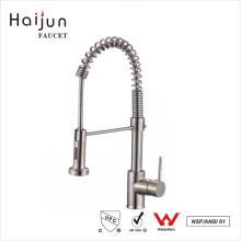 Haijun 2017 Import Manufacturer cUpc Single Handle Pull Down Kitchen Faucet