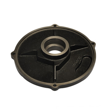 Black Coated End Cover for Electro Motor