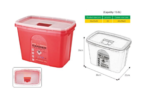 CL-SR0029 Sharp container 15L