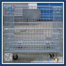 Galvanized Lockable & Foldable Pallet Box