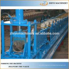 Máquina de laminação a frio do perfil de calha de metal galvanizado