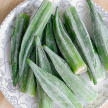 Frozen Vegetables Frozen Boiled Whole Okra With Favorable Price