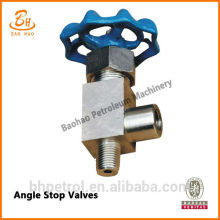 Hot Angle Stop Valves For Mud Pump