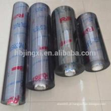 Folha Macia de PVC Transparente