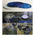 Couvercle supérieur de tambour de peinture en métal 10-25L faisant des machines