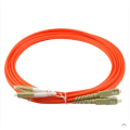 SC إلى LC OM4 Duplex Patch Cord