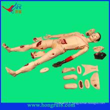Mannequin de soins infirmiers traumatisés avancés, mannequin de traumatisme