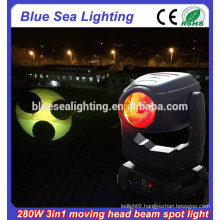 Super beam moving head light DMX 10R 280 sharpy