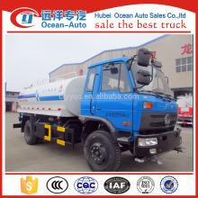 Caminhão novo da água de 2016 dongfeng, caminhão do tanker da água 10cbm com mais barato