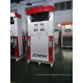 Zcheng Color Rojo Benett Fuel Dispenser Doble bomba