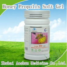 Gel doux naturel de propolis de miel
