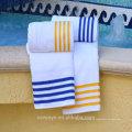 100% coton serviettes de piscine pas cher en vrac (pt-018)
