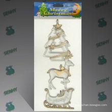 Types de décorations de Noël en plastique transparent