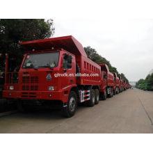 6x4 lecteur 50T Sinotruk HOWO Mine camion à benne basculante / HOWO minier camion / 70T HOWO mine camion / 70T HOWO mine camion à benne basculante