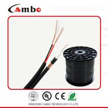 Коаксиальный кабель RG6 сиамский многожильный CU 75ohm