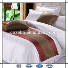 New Arrival Hot Selling Customized Jacquard King /Queen Size Hotel Bed Scard/ Bed Runner