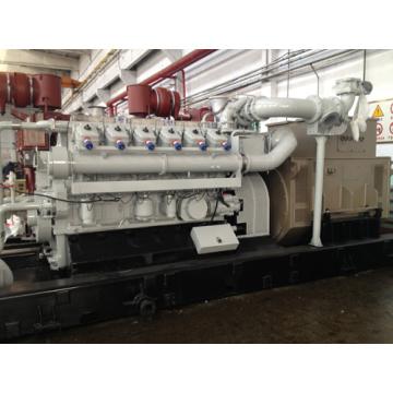 870KVA Gas Generator set powered by 12 Cylinder Engine