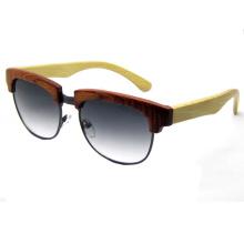 Última tecnología de moda de madera gafas de sol (sz5687-3)