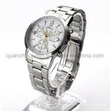 Доказательство воды OEM металлический наручные Кварцевые часы с металлическим браслетом
