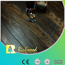 12.3mm Hand Scraped Hickory Sound Absorbing Laminated Flooring
