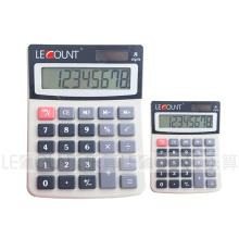 8 chiffres Calculatrice de bureau à moyenne taille avec écran LCD (LC208)