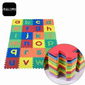 Alfombrilla Melors Room Play Kids Gym Letras Rompecabezas