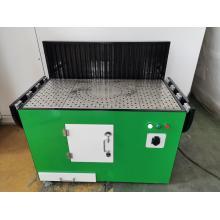 Plataforma de remoção de poeira de polimento de metal