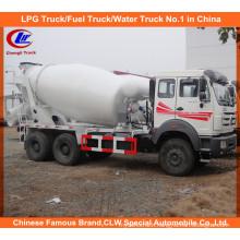 North Benz 10cbm Concrete Transit Mixer for Cement Mobile Mixer