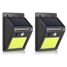 Cost-effective Outdoor Waterproof Solar Motion Sensor Light Security Wall Lamp