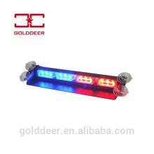 Auto para-brisa LED luz de Visor de LED luz de advertência